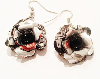 Sale Diet Coke Earrings Upcycled Jewelry Trending Jewelry Teen Girl Gifts Sale Jewelry Coca Cola Recycled Soda Can R30