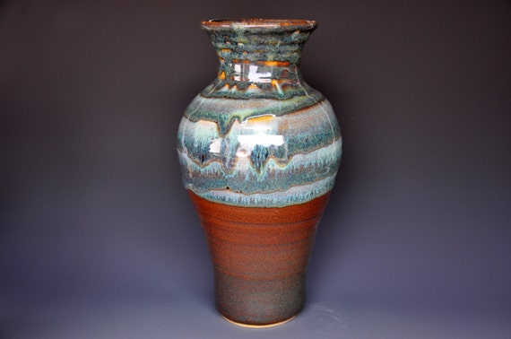 Tall Large Pottery Flower Vase