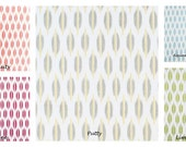 Braemore Ikat Dot Print, 50x84 LINED Rod Pocket Panels, more lengths available - Spice, Wine, Putty, Aquarmarine, Lime
