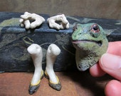Green Frog #10 Anthro Art Doll Parts