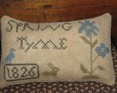 Primitive Spring Tyme 1826 Pinkeep