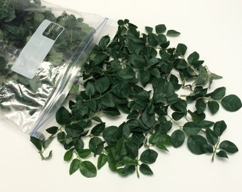 Artificial Leaves - One Gallon Bag Artificial Rose Leaves - Greenery, Filler