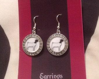 Stockshow/FFA/Animal Charm Earrings/Bracelet or Necklace