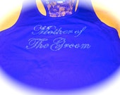 Mother of The Groom Lace Tank Top / Mother of the groom rhinestone tank top / maid of honor / bridesmaid / matron of honor / bride to be