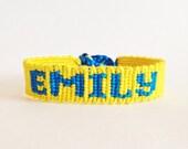 Custom Name Friendship Bracelet Personalized