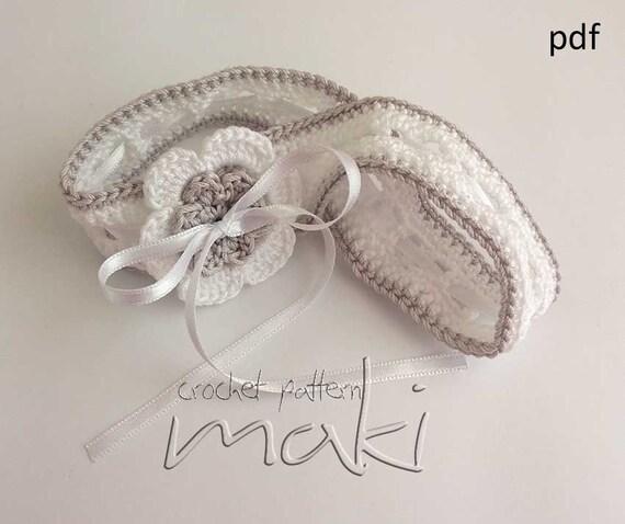 Crochet flower headband pattern Full of large pictures