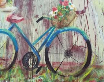 Bike Near the Garden Gate