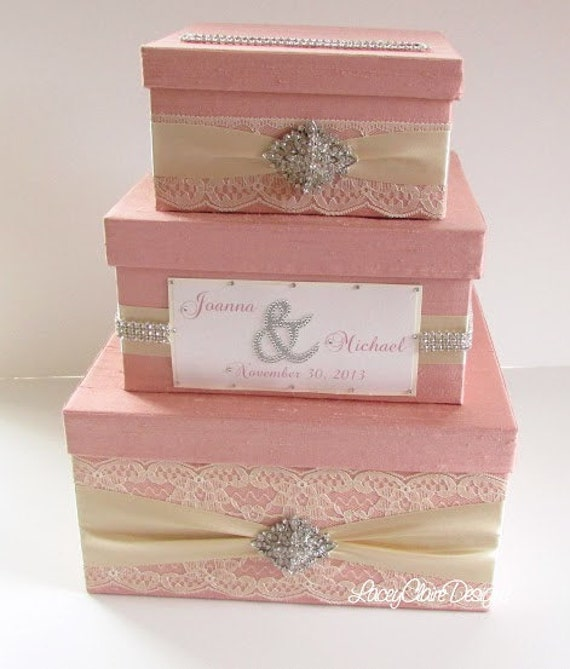 Wedding Money Box Card Box Money Card Box Custom Card