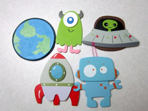 Decorative Outlet Socket Covers Aliens and by Diannasdiapercakes