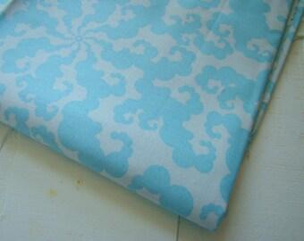 Tendril Sky Fabric, Sugar Snap by Melissa Averinos, Free Spirit Fabric,  OOP Last Yard