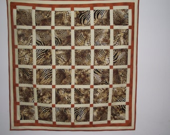 Jungle Quilt & Wall Hanging
