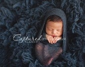 Leighton Heritage Newborn Stretch Wrap IN STOCK Ready to Ship Super Stretch Knit Soft Swaddle Photography Prop Swaddler Layering Texture Boy