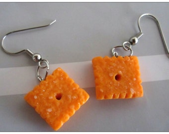 Cheez-It Earrings