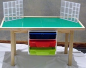 """The Supreme Extra Large 8 plate Lego Table - 22"""" tall"""