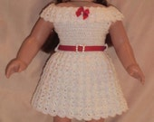 199 Basic Party Outfit  - Crochet Pattern for American Girl Dolls