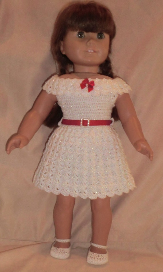 199 Basic Party Outfit Crochet Pattern For American Girl