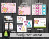 Butterfly Party Package - Butterfly Party