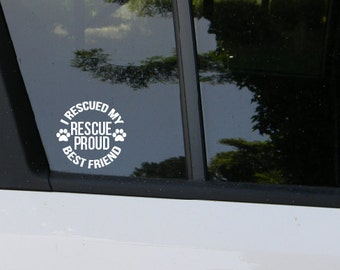 RESCUE PROUD Decal