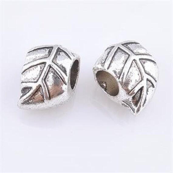 2 leaf dreadlocks beads