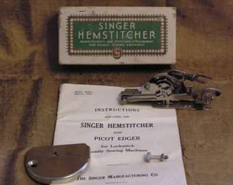 Singer Vintage Hemstitcher