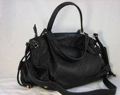 SALE  Pebble Texture Leather Purse The Beverly