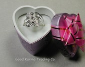 Sterling Silver Filigree Ring.  Just Gorgeous