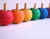 Wooden -Flipping Spinnging Top- Party Favor