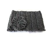 Womens Knit Headband, Knit Earwarmer, Winter Accessories,  Hair Accessory, Knit Head Warmer, Grey Headband