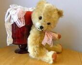 Vintage Bear - Mohair 15 inch Bear - European Toy Teddy - 1960's Toy