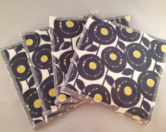 Flannel/Terry Cloth Napkins - Aretha Citron