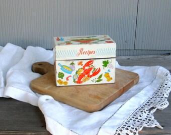 Vintage Recipe Box | Ohio Art Metal