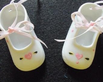 Handpainted Baby's First Valentines Day Keepsake