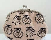 Medium Coin Purse - Lucky Owl