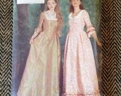Vintage Butterick History Sewing Pattern 6867 1800's Womens Dress Costume Size 18-22 uncut- womens costume pattern,costume,halloween costume