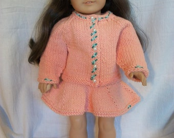 Knitting Pattern 13 Inch Doll : PDF Knitting Pattern for American Girl or 18 Doll Top