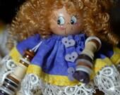 Button dolls