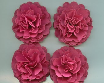 Razzle Pink Carnation Paper Flowers