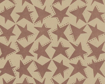 Artist Papers - 11x17 Twelve Sheets Stars Designs for Bookbinding Collage Scrapbooking and Card Making