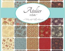 SALE Moda Atelier Charm Pack by 3 Sisters 44050PP New Fabric Just Arrived