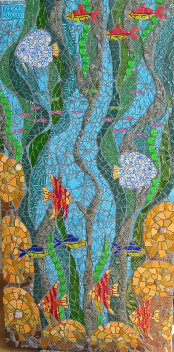 The Water Goddess Mosaic Picture