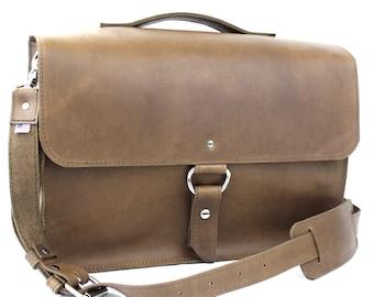 """15"""" Brown Sierra Midtown Laptop Bag - 15-MID-BR-LAP"""