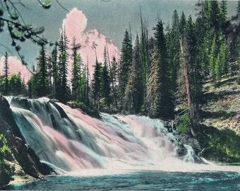 Roaring River Hand Tinted Photo Print