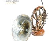 French Horn Touch Lamp