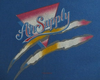 AIR SUPPLY vintage 1985 tour TSHIRT