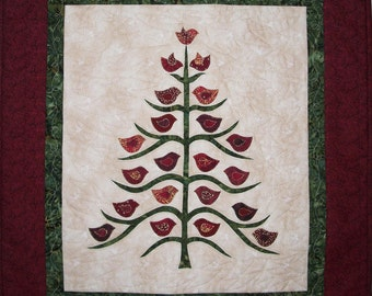 The Gathering Wall Hanging Quilt Pattern