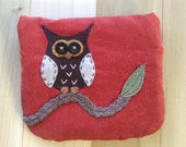 Owl Orange, Small Pouch