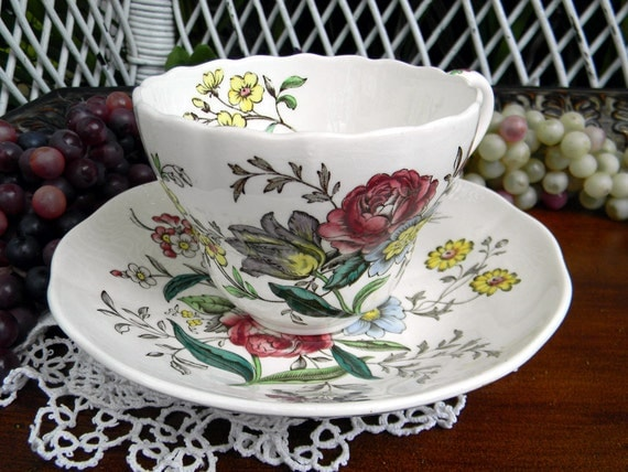 Copeland Spode Great Britain Gainsborough Tea Cup and Saucer