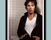 Bruce Springsteen Poster. Darkness on the Edge of Town 1978  Promo  Large A2 (40 X 60 cm ) Print