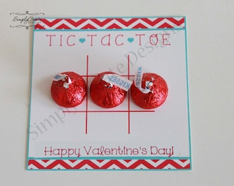 Valentine Tic Tac Toe File Pdf INSTANT DOWNLOAD