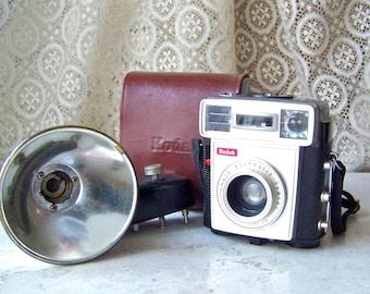 Vintage Kodak Brownie Starmatic Camera Original Case Retro Camera Photographer Camera Collector circa 1959-1963
